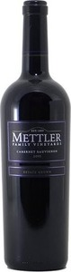 Mettler Family Vineyards Cabernet Sauvignon Estate Grown 2012, Lodi Bottle