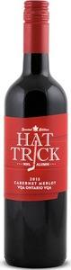 Colio Hat Trick N H L Alumni Cab Merlot 2013, Ontario VQA Bottle