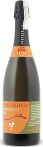 Prevedello Asolo Superiore Extra Dry Prosecco 2014, Docg, Veneto, Italy Bottle