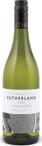 Thelema Sutherland Sauvignon Blanc 2013, Wo Elgin Bottle