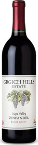 Grgich Hills Estate Grown Zinfandel 2011, Napa Valley Bottle