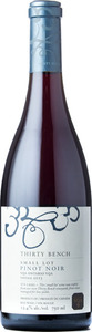Thirty Bench Small Lot Pinot Noir 2013, Ontario Bottle