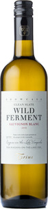 Trius Showcase Clean Slate Sauvignon Blanc Wild Ferment 2013, Niagara On The Lake Bottle