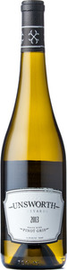 Unsworth Vineyards Pinot Gris 2013, Vancouver Island Bottle