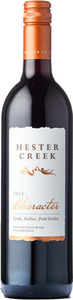 Hester Creek   Character Red 2013, BC VQA Okanagan Valley Bottle