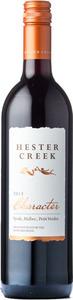 Hester Creek   Character Red 2013, BC VQA Okanagan Valley Bottle
