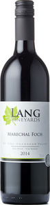 Lang Marechal Foch 2014, BC VQA Okanagan Valley Bottle