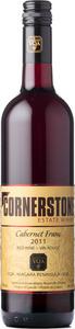 Cornerstone Estate Winery Cabernet Franc 2011, Lincoln Lakeshore Bottle