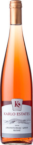 Karlo Estates Frontenac Gris Rose 2014, Prince Edward County Bottle