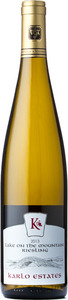 Karlo Estates Lake On The Mountain Riesling 2013, Prince Edward County Bottle