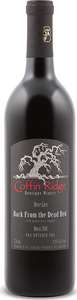 Coffin Ridge Back From The Dead Red 2013, VQA Ontario Bottle
