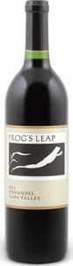 Frog's Leap Zinfandel 2012, Napa Valley Bottle