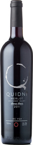 Quidni Barrel Select Merlot 2011, BC VQA  Bottle