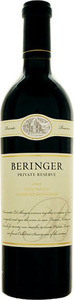 Beringer Private Reserve Cabernet Sauvignon 2003, Napa Valley Bottle