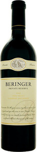 Beringer Private Reserve Cabernet Sauvignon 2002, Napa Valley Bottle