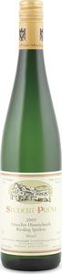 Studert Prüm Graacher Himmelreich Spätlese Riesling 2009, Prädikatswein Bottle
