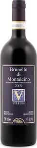 Verbena Brunello Di Montalcino 2009 Bottle