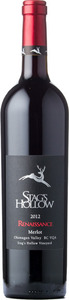Stag's Hollow Merlot Renaissance Stag's Hollow Vineyard 2012, BC VQA Okanagan Valley Bottle