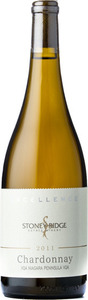 Stoney Ridge Estate Winery Excellence Chardonnay 2010, Niagara Peninsula Bottle