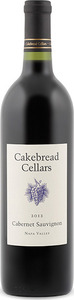 Cakebread Cellars Cabernet Sauvignon 2012, Napa Valley Bottle