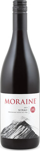 Moraine Syrah 2013, BC VQA Okanagan Valley Bottle
