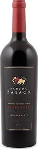 Rancho Zabaco Sonoma Heritage Vines Zinfandel 2013, Sonoma County Bottle