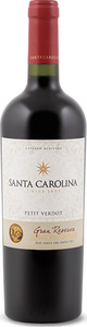 Santa Carolina Gran Reserva Petit Verdot 2012, Rapel Valley Bottle