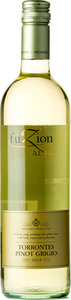 Fuzion Alta Torrontes Pinot Grigio 2015 Bottle