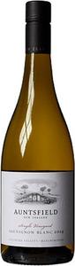 Auntsfield Single Vineyard Sauvignon Blanc 2014, Southern Valleys Bottle