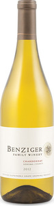 Benziger Chardonnay 2012, Sonoma County Bottle