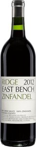 Ridge Vineyards East Bench Zinfandel 2013 Bottle