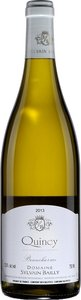 Domaine Sylvain Bailly Quincy Beaucharme 2014, Ac Bottle
