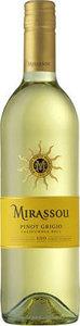 Mirassou Pinot Grigio 2014, California Bottle