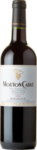 Mouton Cadet Rouge 2013, Bordeaux Bottle
