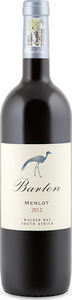 Barton Merlot 2012, Wo Walker Bay Bottle