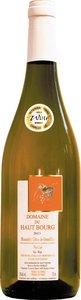 Domaine Du Haut Bourg Muscadet Côtes De Grandlieu 2013, Ac, Sur Lie Bottle