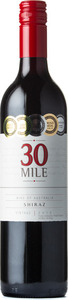 30 Mile Shiraz 2012, South Eastern Australia Bottle