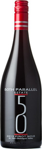 50th Parallel Pinot Noir 2013, Okanagan Valley Bottle