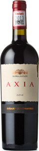 Alpha Estates Axia Syrah   Xinomavro 2010, Northern Greece Bottle