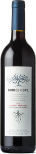 Buried Hope Cabernet Sauvignon 2012, North Coast Bottle