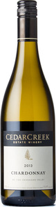 CedarCreek Chardonnay 2013, BC VQA Okanagan Valley Bottle