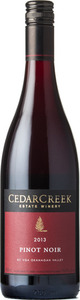 CedarCreek Pinot Noir 2013, Okanagan Valley Bottle