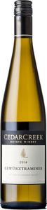 CedarCreek Gewurztraminer 2014, BC VQA Okanagan Valley Bottle