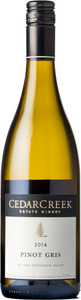 CedarCreek Pinot Gris 2014, BC VQA Okanagan Valley Bottle