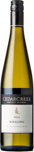 CedarCreek Riesling 2014, Okanagan Valley Bottle