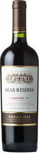 Errazuriz Max Reserva Carmenère 2012 Bottle