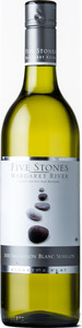 Five Stones Sauvignon Blanc Semillon 2013, Margaret River Bottle