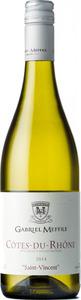 Gabriel Meffre Cotes Du Rhone Blanc Saint Vincent 2014 Bottle