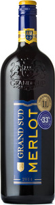 Grand Sud Merlot 2014, Vin De Pays D'oc Bottle
