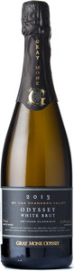 Gray Monk Odyssey White Brut 2013, BC VQA Okanagan Valley Bottle